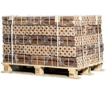 Halve pallet Pini Kay houtbriketten
