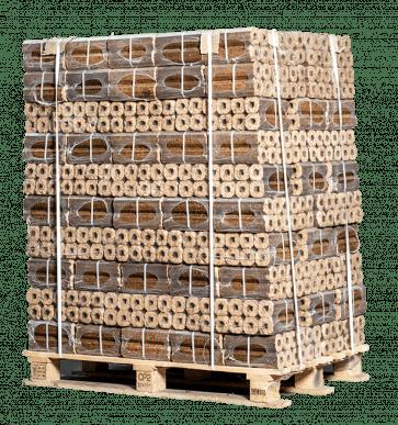 Pallet Pini Kay houtbriketten