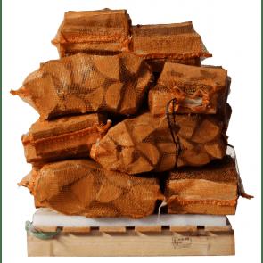 15 zakken ovengedroogd elzenhout (zonder krat)