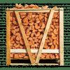 Halve pallet ovengedroogd elzenhout