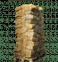 pallet met 72 zakken ovengedroogd berkenhout